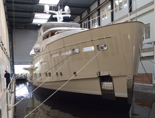 34m Displacement Motoryacht