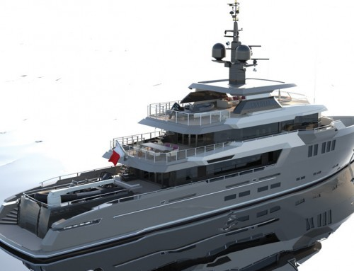 Keel laid for 42m Royal Denship superyacht in Holland