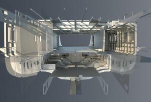 Refit superyacht - Extension hull