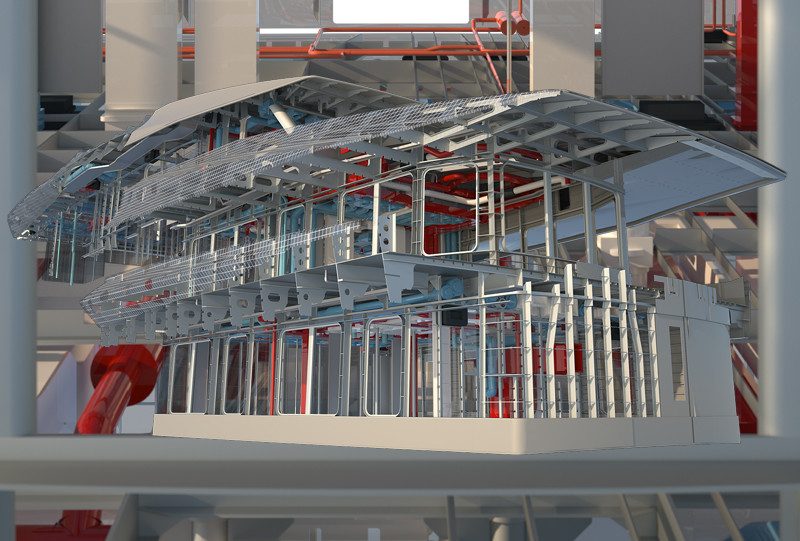 70m-Superyacht Construction Outfitting