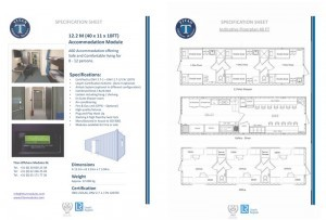 Accommodation module specifications