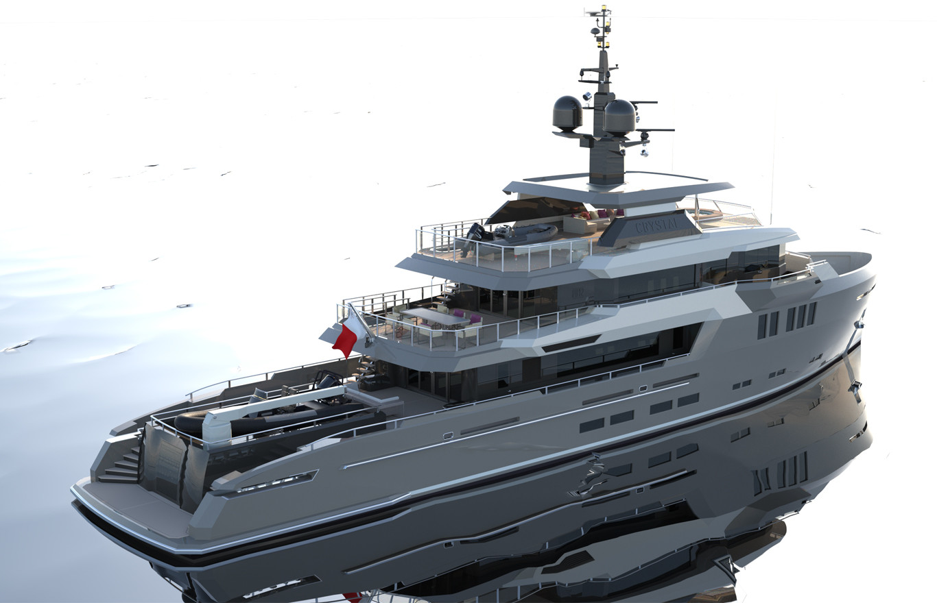 3d-modelling-naval-architecture-42m-expedition-yacht