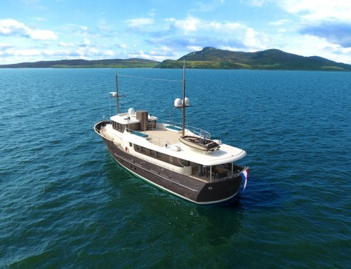 Motor yacht Livingstone delivered