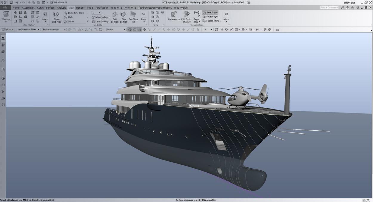 3d-Modelling-fairing-linesplan