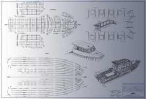 Building kit boat