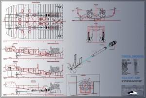 Propulsion arrangement yacht