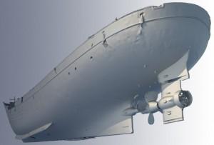 Refit engineering - 3D scanning - Boat hull scan